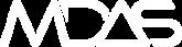 MDAS GmbH Logo white